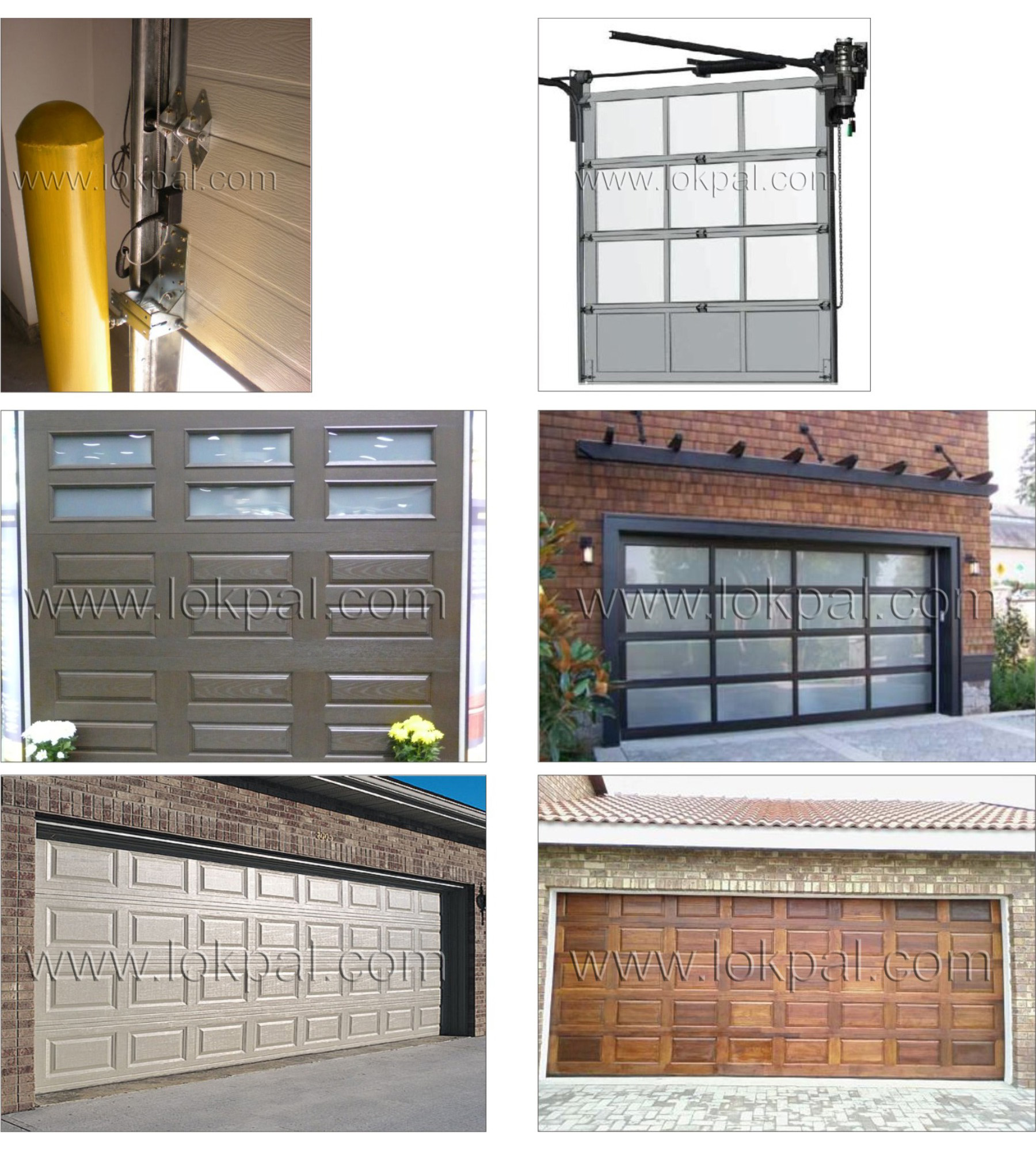 Automatic garage door tips on choosing the right style for Garage door opens on its own
