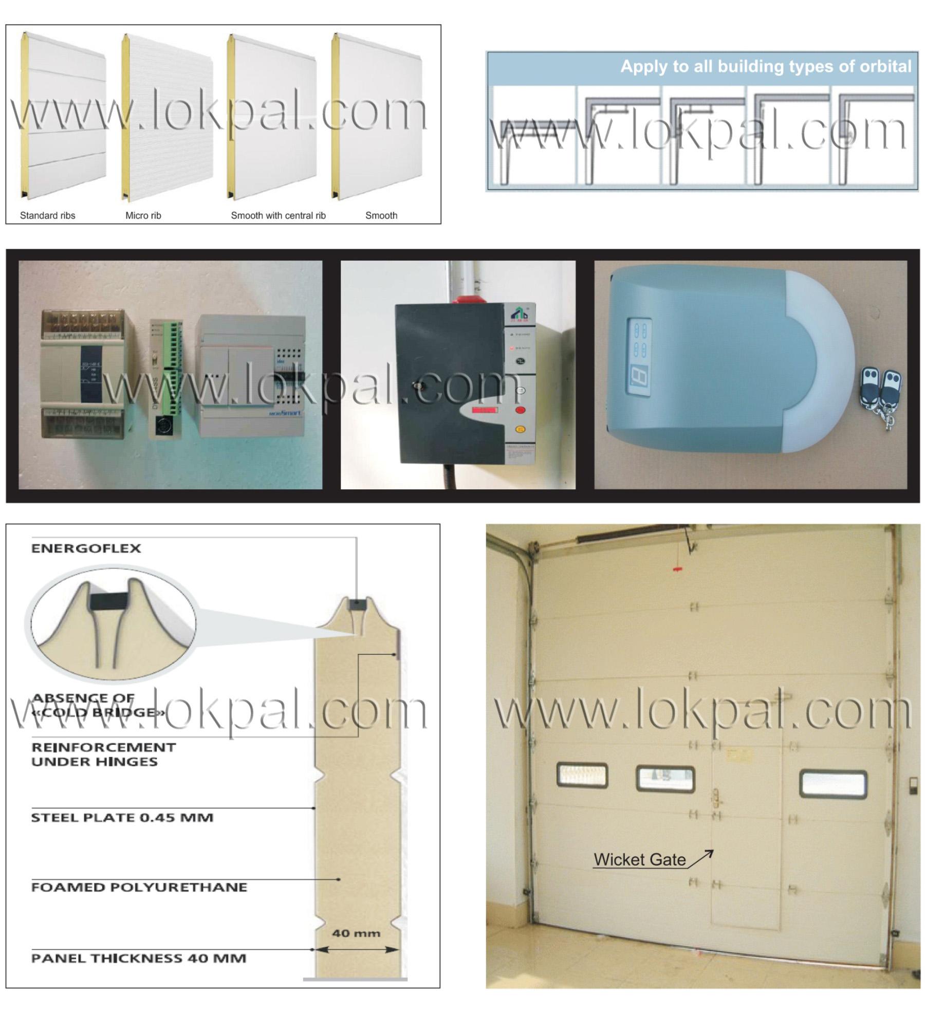 Industrial overhead sectional door industrial door for Door manufacturers