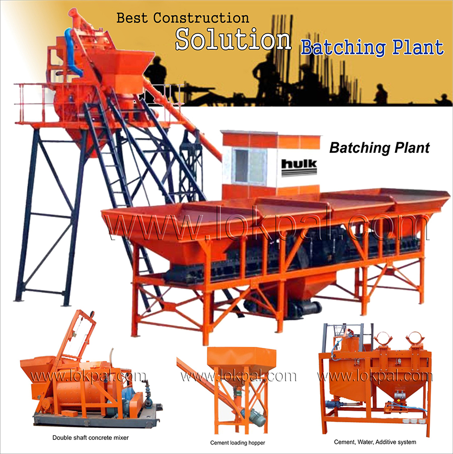 Batching plant manufacturers and suppliers