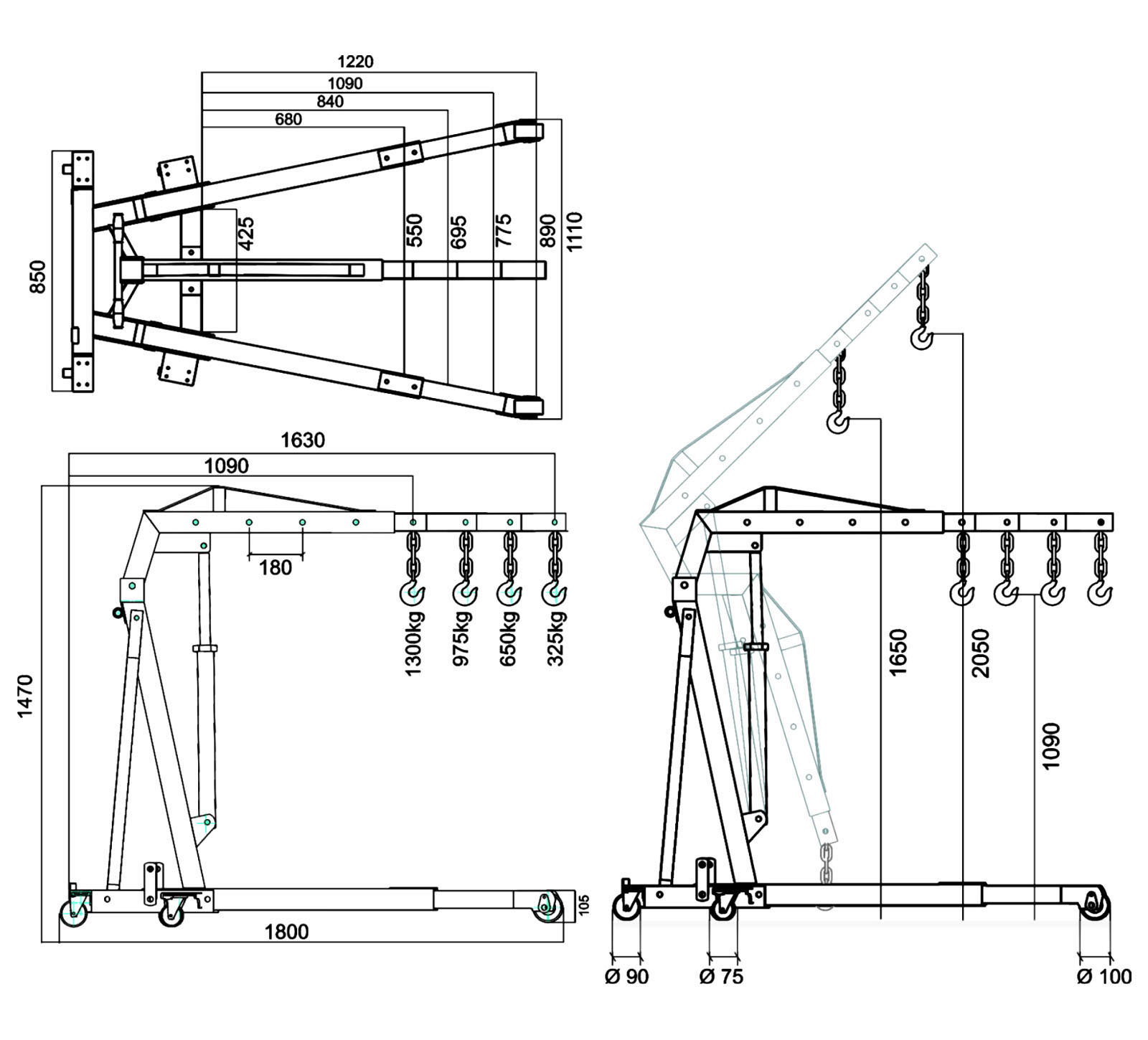2 sd hoist wiring diagram electric pallet jack diagram ... monorail crane wiring diagram p h crane wiring diagram #7