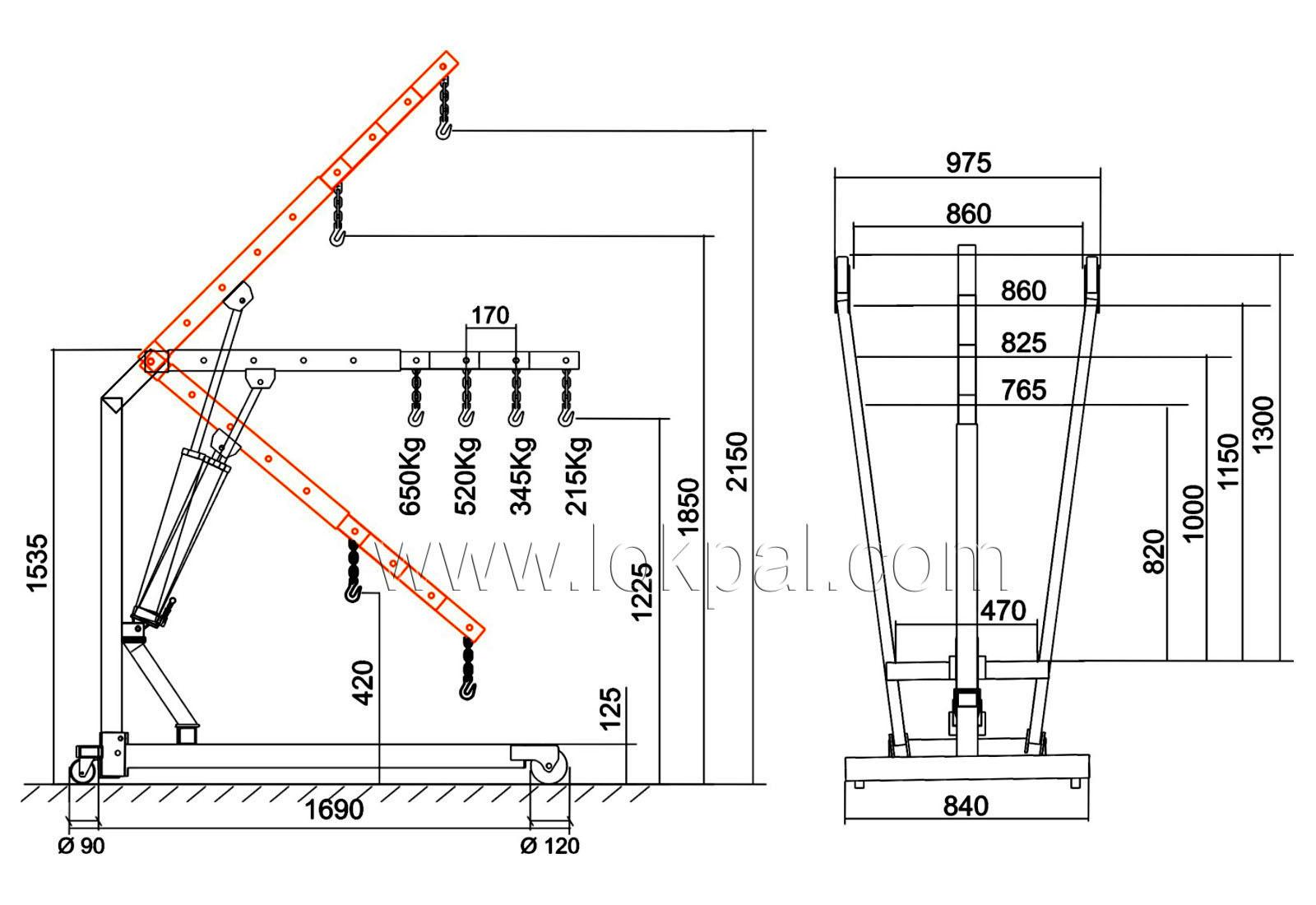 hydraulic engine crane t 30752 manufacturers and suppliersEngine Hoist Diagram #6