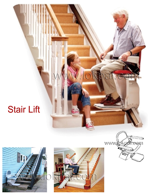 View large image  sc 1 st  Lokpal Industries & Stair Lift Chair Stairlft Chair Manufacturers Suppliers and Dealers